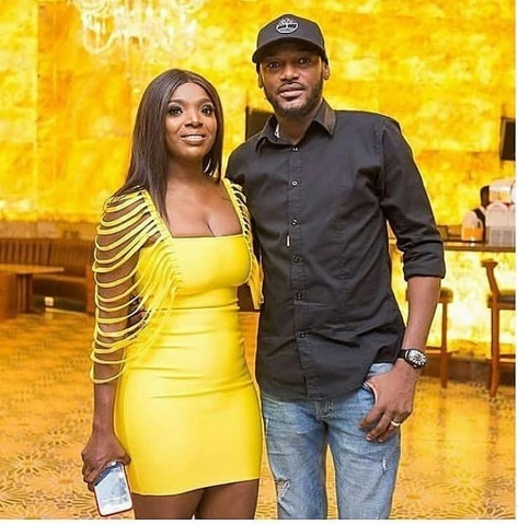 Annie Idibia and husband 2Face Idibia