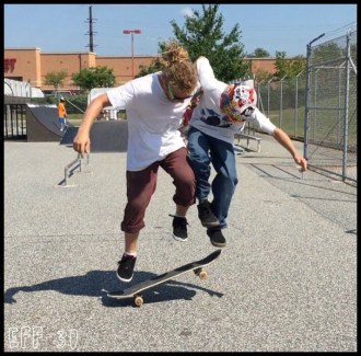 Vu Two Man Ollie