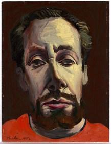Albert Tucker, Self Portrait, 1954. National Gallery of Australia. Copyright Barbara Tucker.