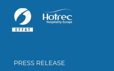 Roadmap to rebuild the hospitality sector : Joint statement EFFAT – HOTREC