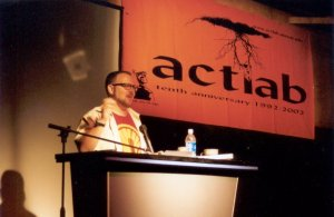 Cory Doctorow at a 2002 EFF-Austin Talk