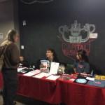 Bruce Sterling speaks with EFF's Maggie Kazmierczak at #EFFSalon
