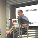 "William ""Bill"" Binney speaks at #EFFSalon"