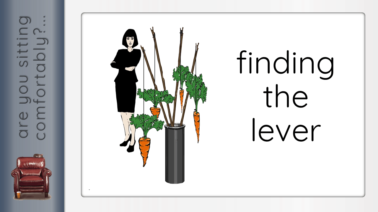 finding the lever