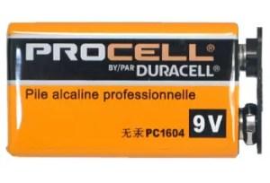 【DURACELL】PRO-9Vのレビューや仕様
