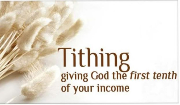 Image result for tithing