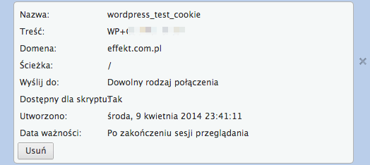 cookie wp