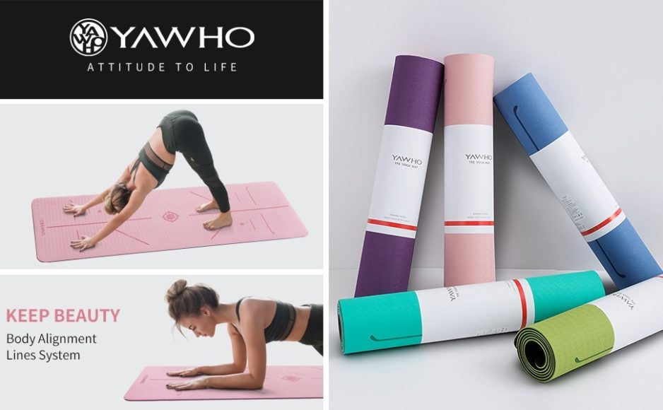 YAWHO Yoga and Fitness Mat