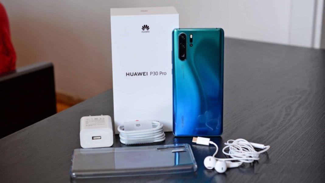 Huawei P30 Pro Package