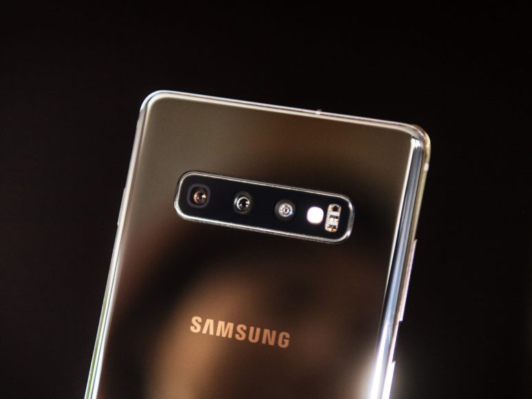 Samsung Galaxy S10 Finally a wide angle lens
