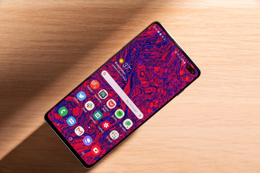 Samsung Galaxy S10 Gorgeous display