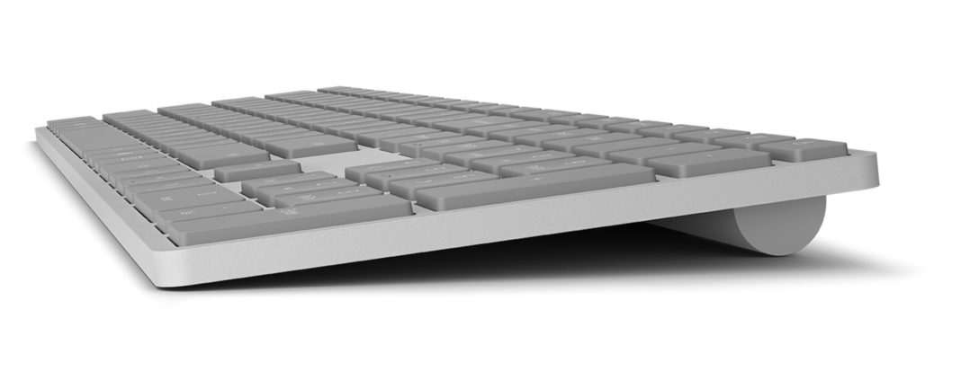 Microsoft Modern Keyboard with Fingerprint ID – Design