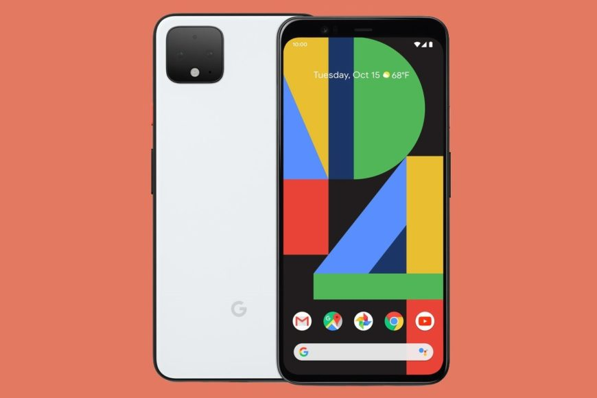 Google Pixel 4 – Simple design without a fingerprint reader