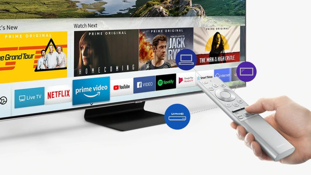 Samsung QLED Q90 - Smart TV