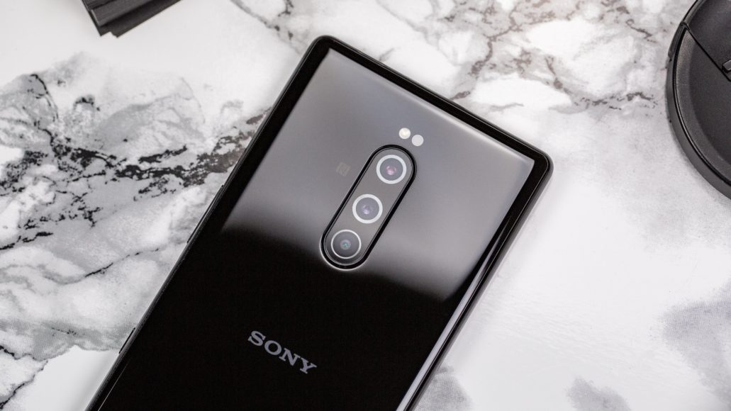 Sony Xperia 1 – Three rear cameras and one on the front