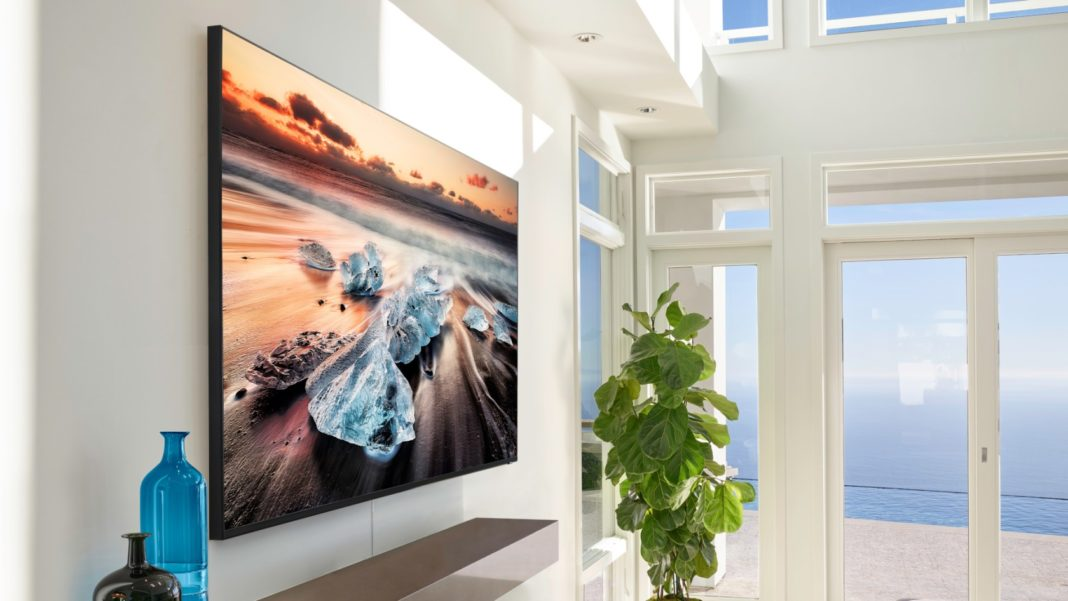 Samsung QLED Q70: best TV for gaming