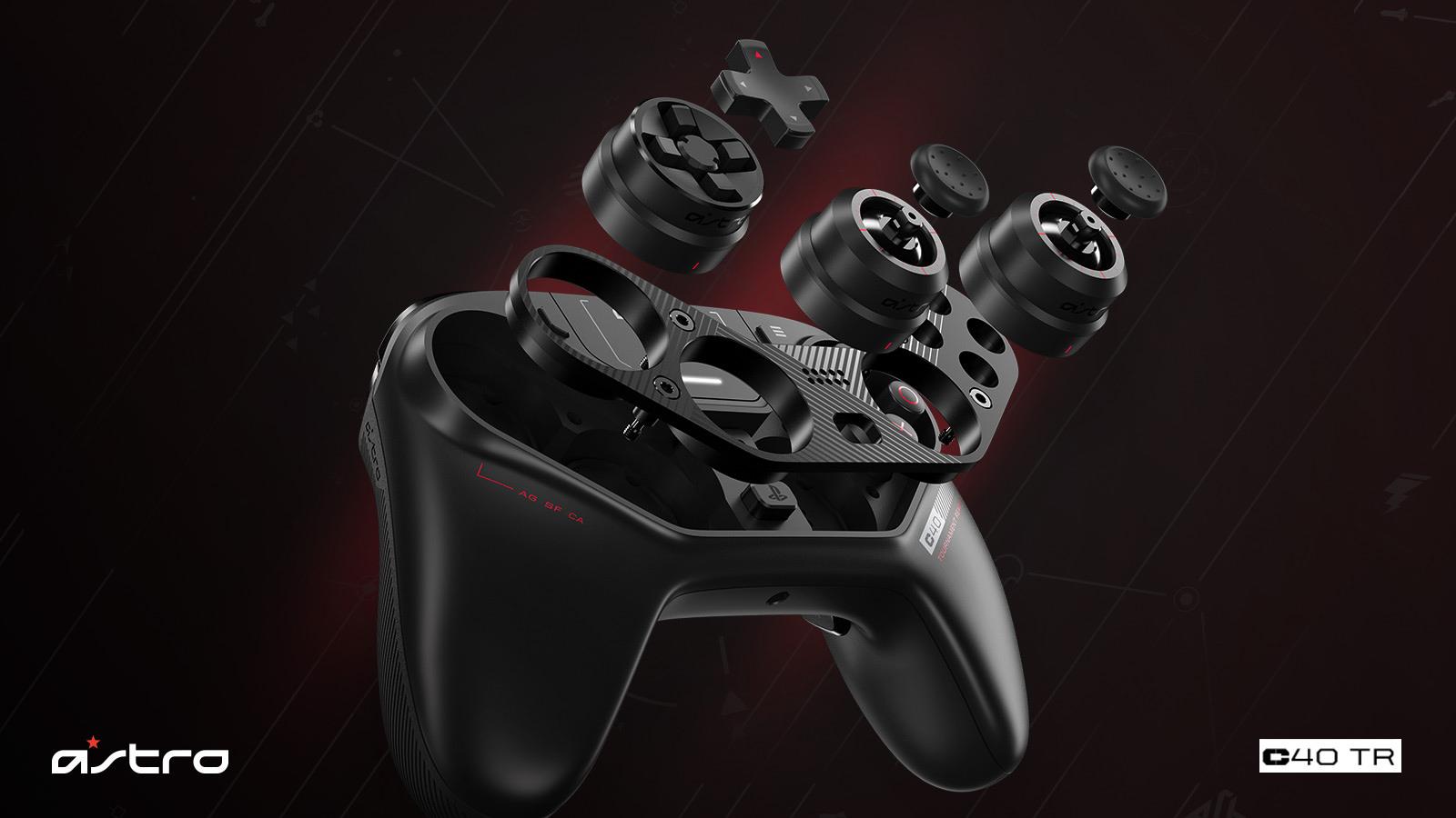 Astro Gaming C40 TR – Design