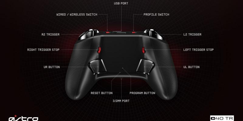 Astro Gaming C40 TR – Features