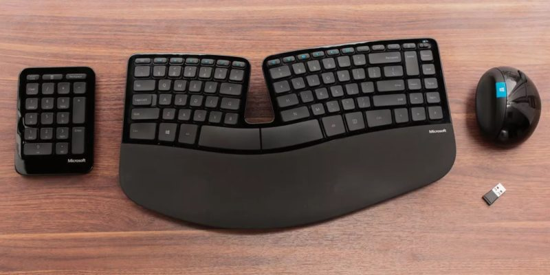 Microsoft Sculpt Ergonomic Desktop: best keyboard for work
