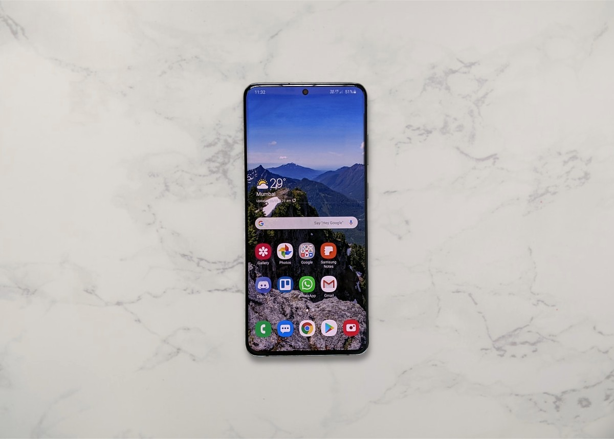 Samsung Galaxy S20+ - Software