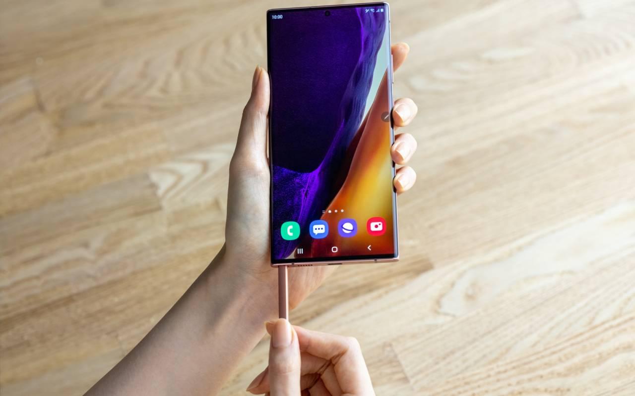 Samsung Galaxy Note 20 Ultra – S Pen