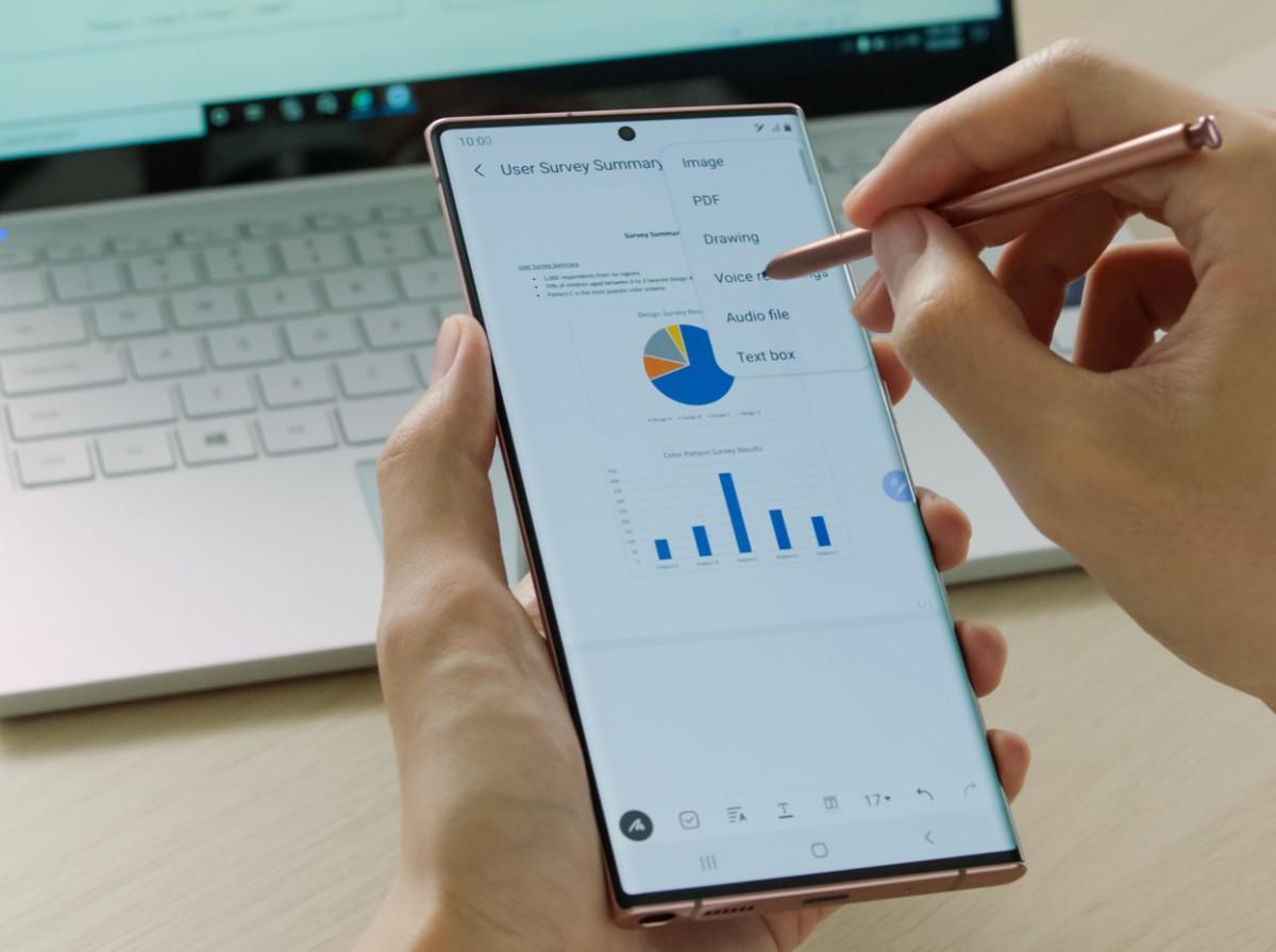 Samsung Galaxy Note 20 Ultra – Software