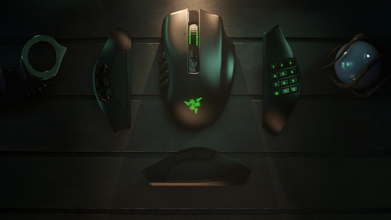 Razer Naga Pro best wireless gaming mouse for MOBA and MMO