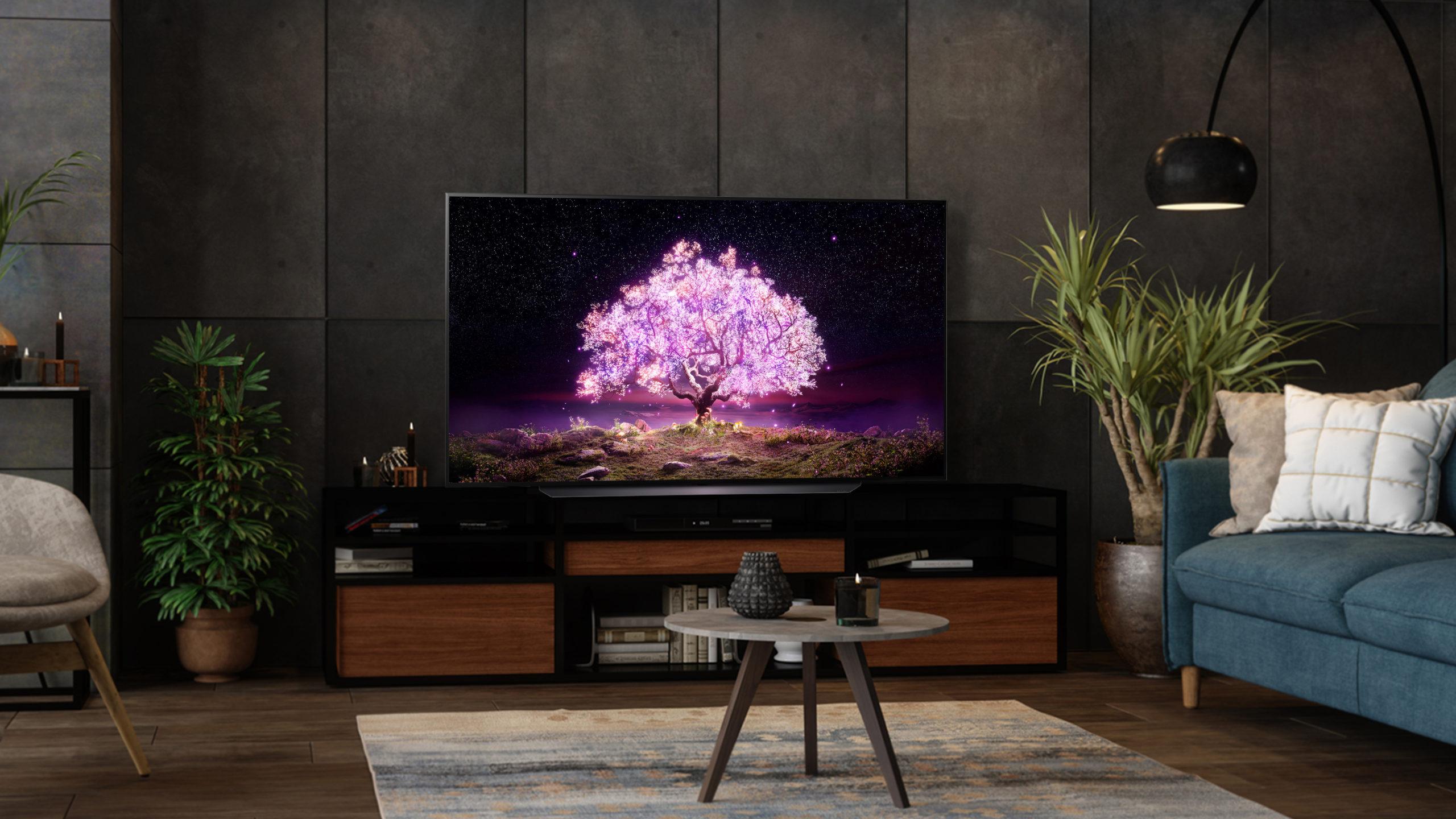 LG C1 OLED: best OLED TV