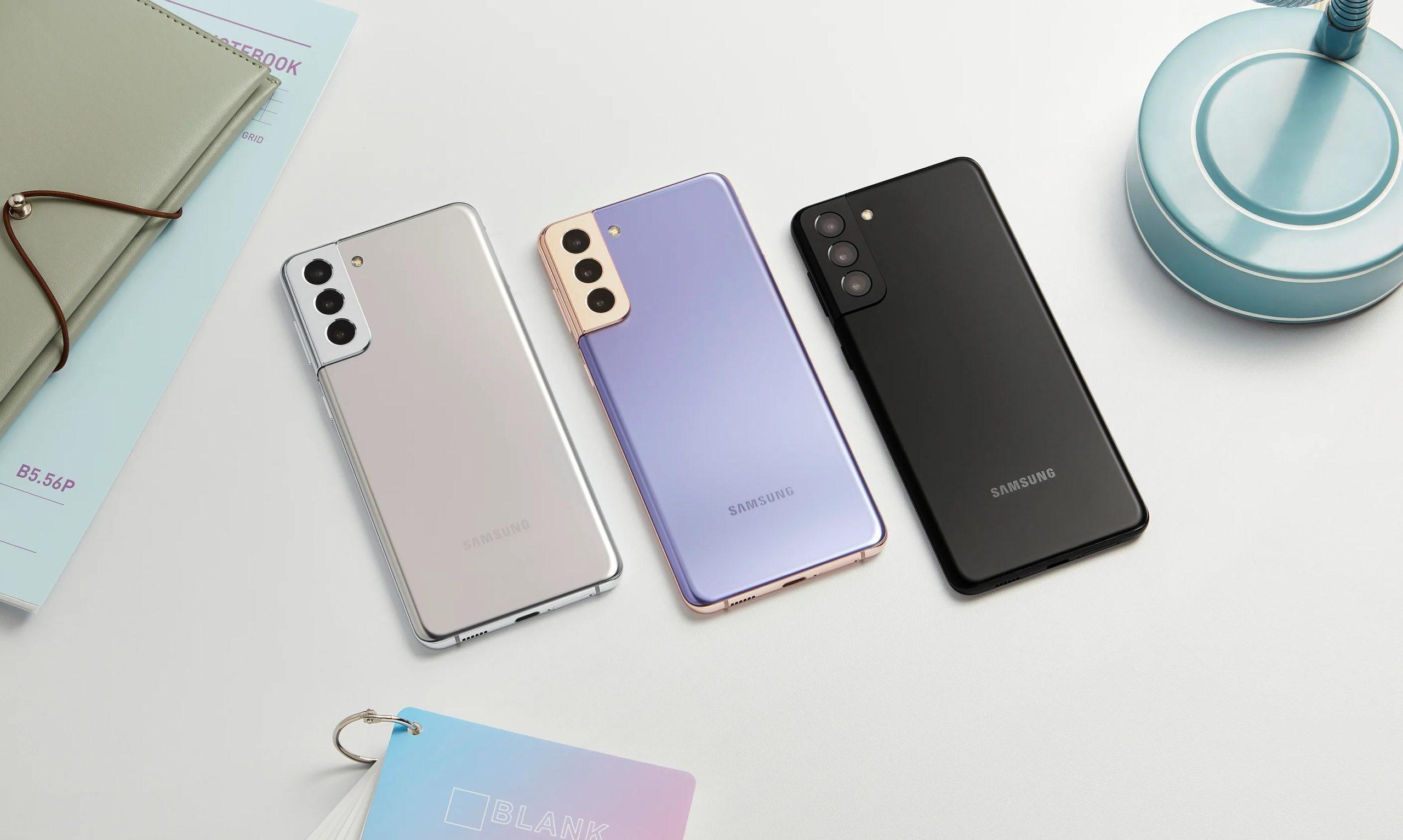 Samsung Galaxy S21+: the best phone