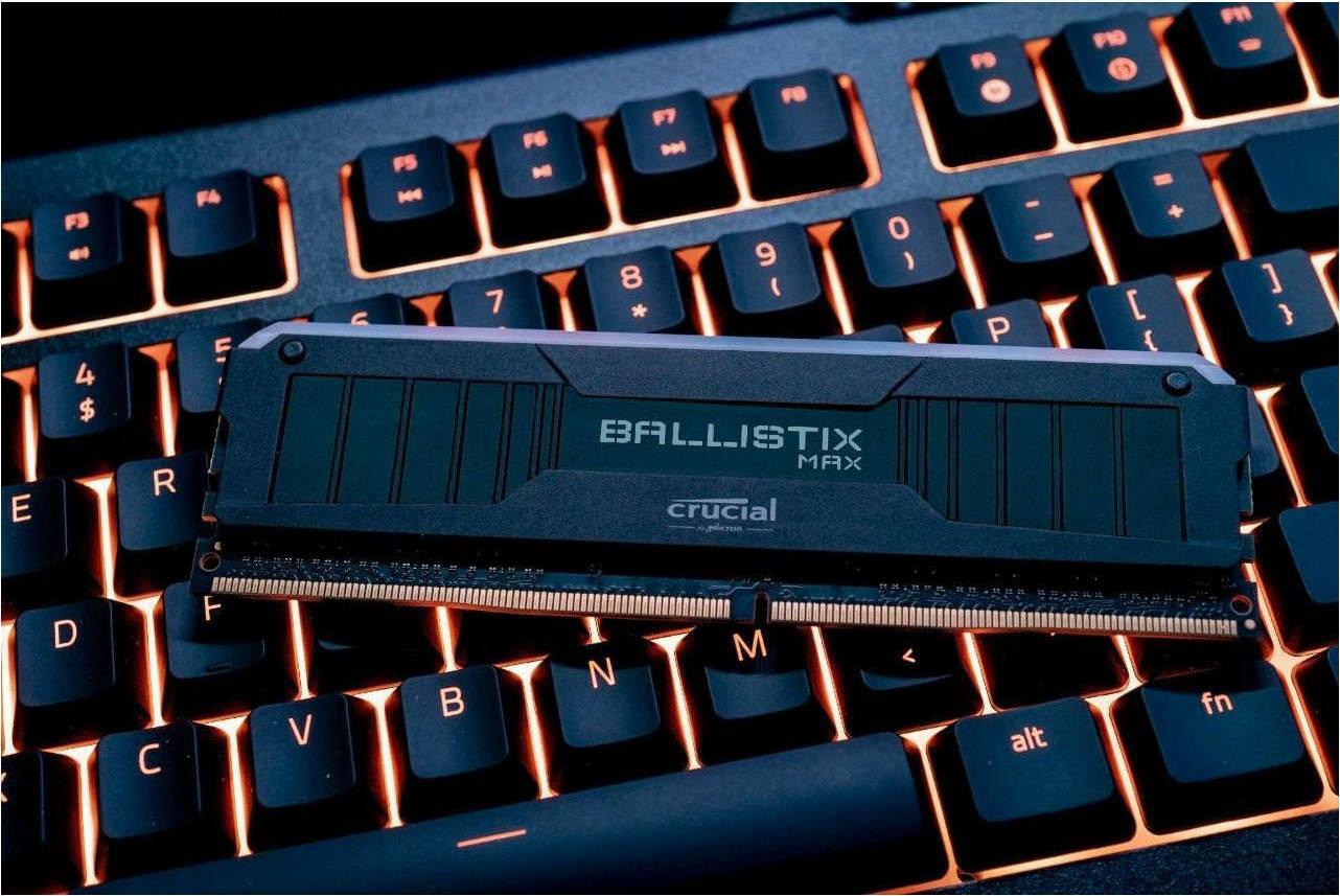Crucial Ballistix MAX: best RAM for overclocking