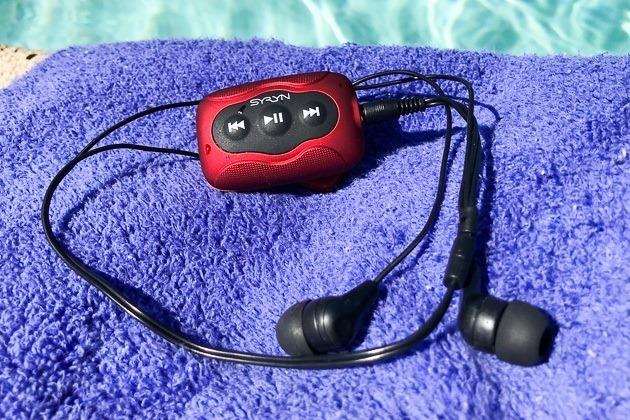 Le migliori cuffie per i nuotatori Underwater Audio Swimbuds Syryn