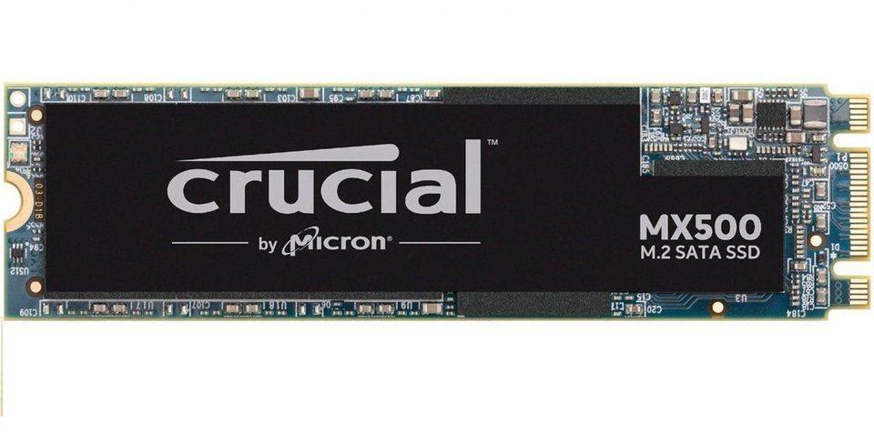 Archiviazione SSD Crucial da 500 GB MX500 M.2