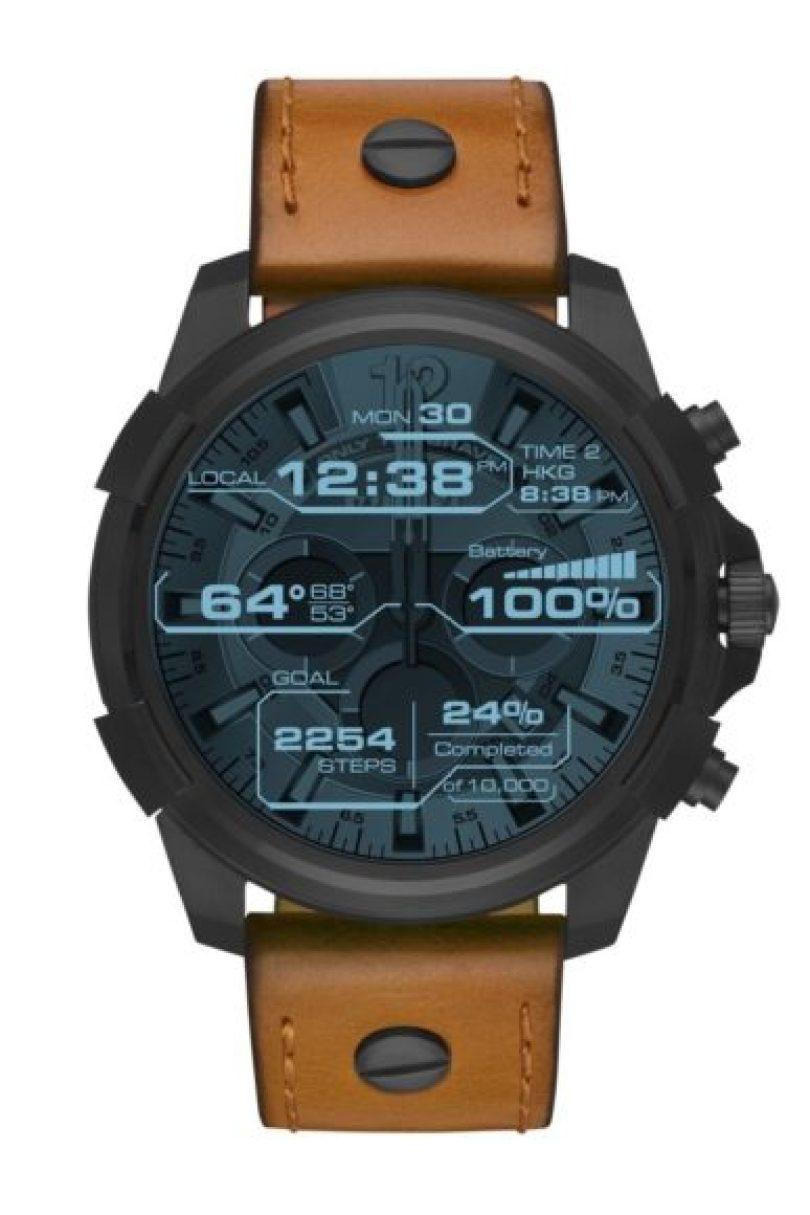 """c743ef193d Come parte del gigante Fossil Group, Diesel sta abbracciando completamente  il genere smartwatch e interpretandolo nel suo stile spudoratamente """" ..."""