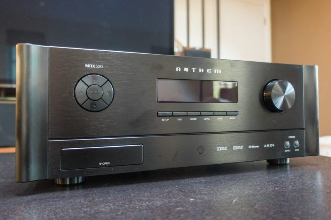 receivers anthem mrx 520