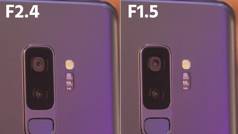Galaxy S9 Alti e bassi della fotocamera a doppia apertura