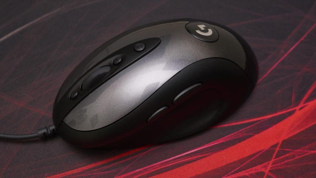 Logitech MX518 Legendary gaming mouse Review | WASD