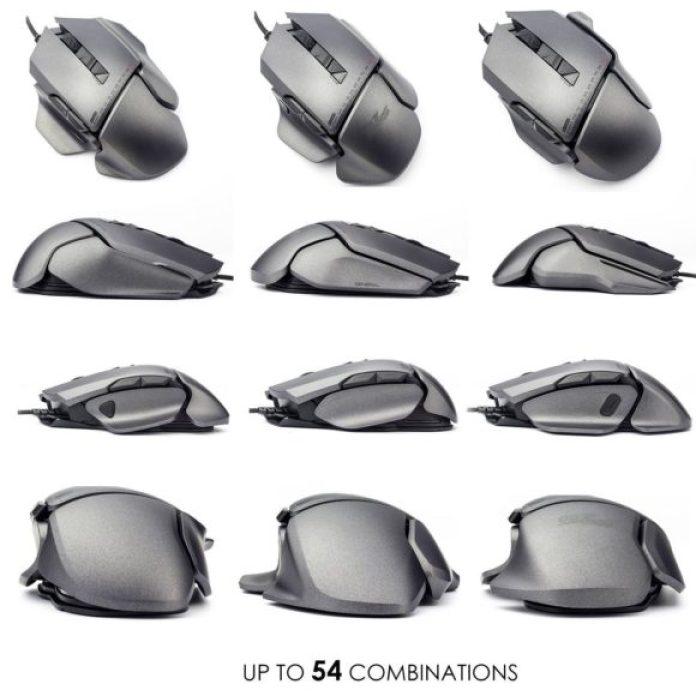 Mouse da gioco personalizzabili