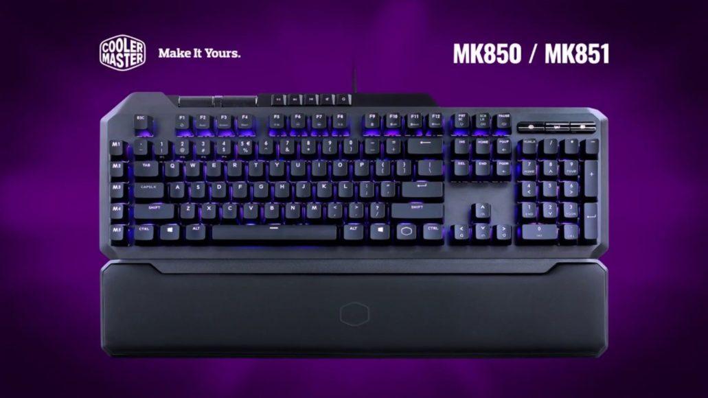 Cooler Master MK850: la tastiera gaming che sostituisce il gamepad