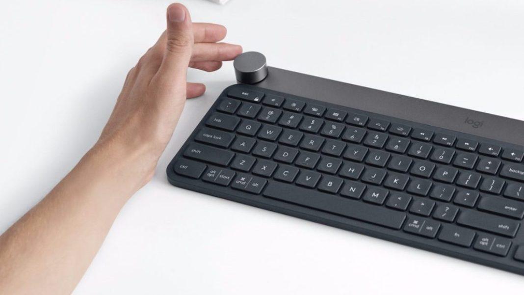 Logitech Craft - Utilizzando la tastiera