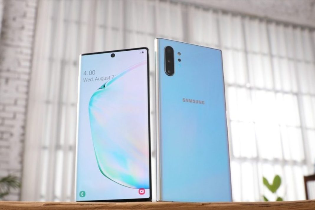 Samsung Galaxy Note 10 – Design