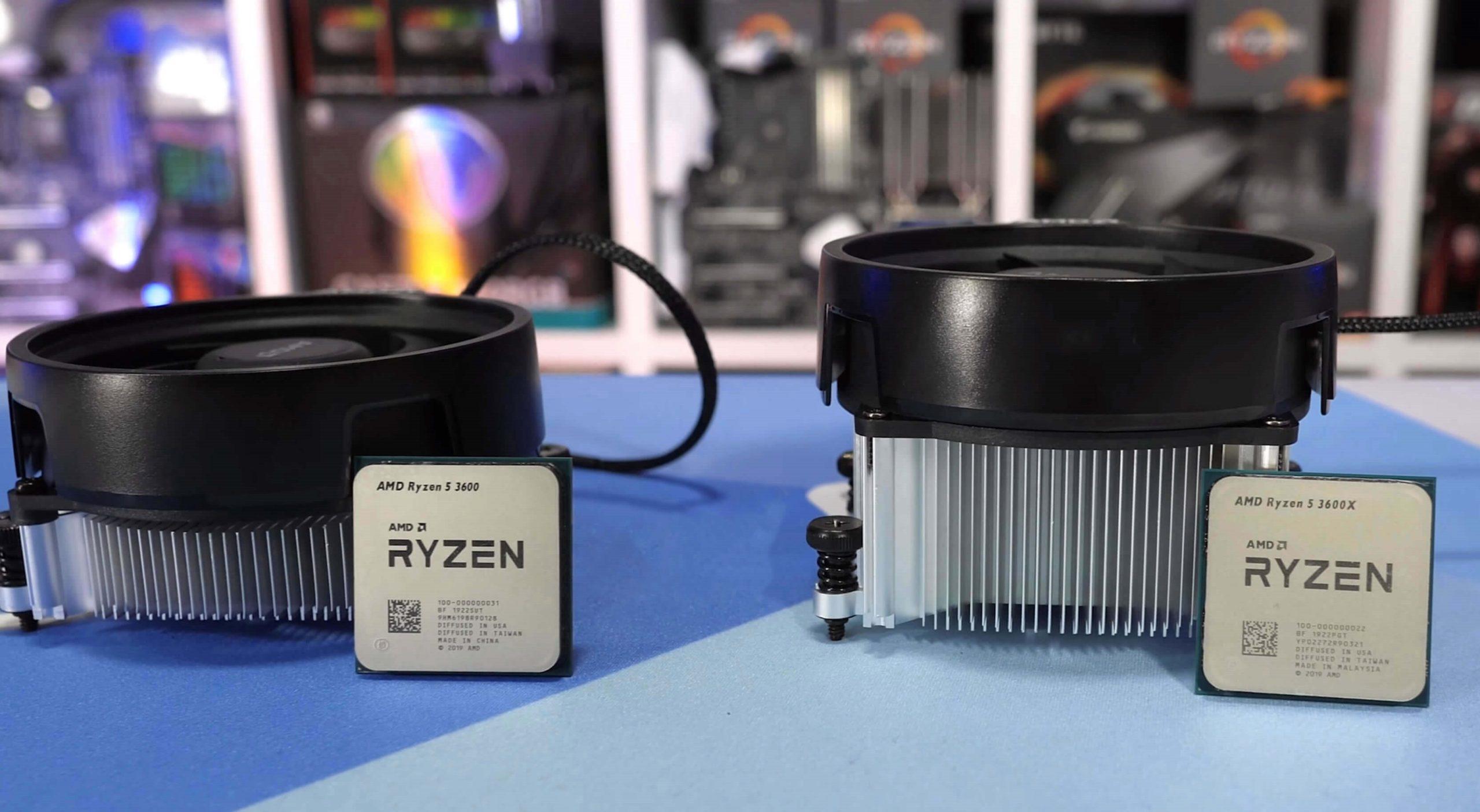 AMD Ryzen 5 3600X miglior CPU di fascia media