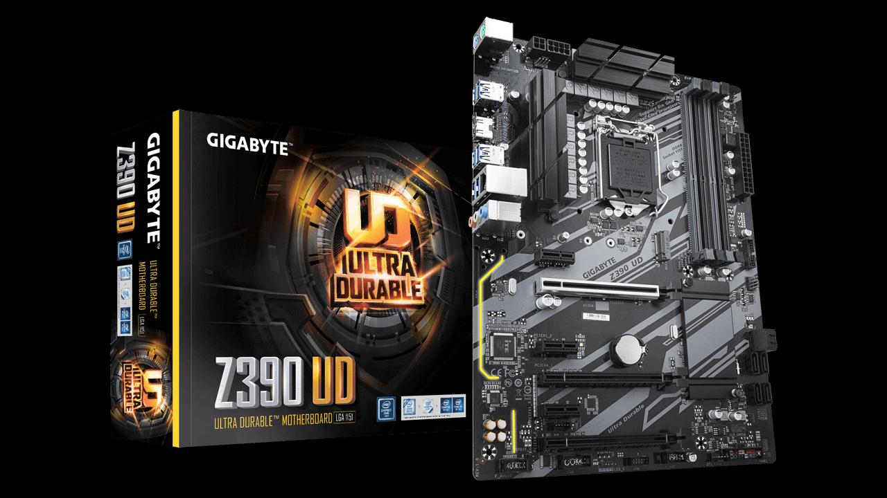 Gigabyte Z390 UD: la scheda madre Intel più economica