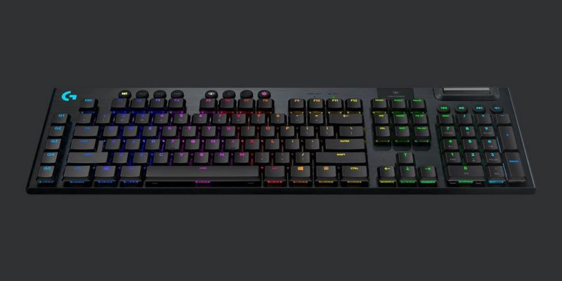 Logitech G915 Lightspeed Wireless RGB: tastiera gaming portatile