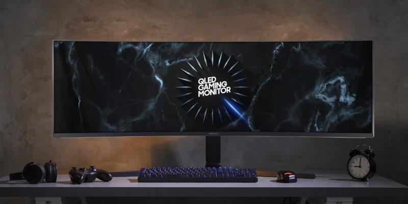 Samsung CRG9/C49RG9 : il monitor gaming più grande
