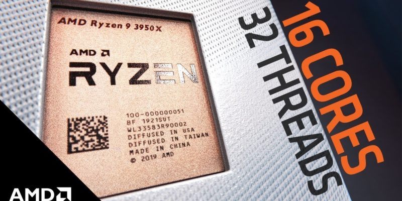 AMD Ryzen 9 3950X: il migliore in assoluto