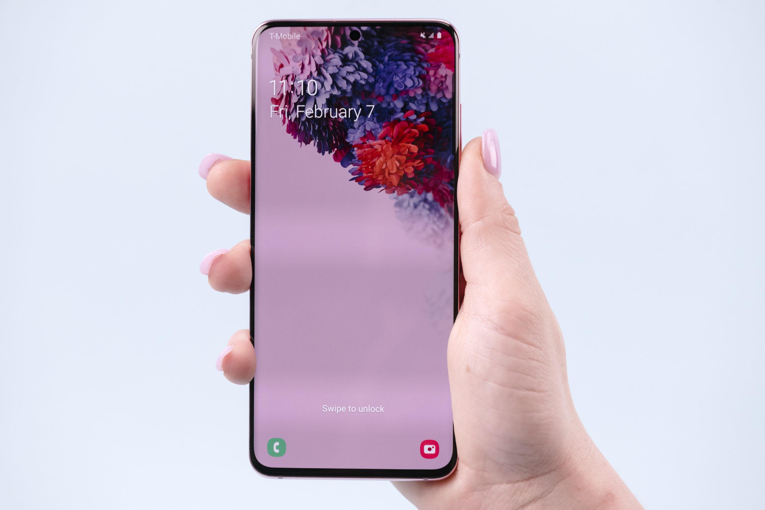 Samsung Galaxy S20 - Display