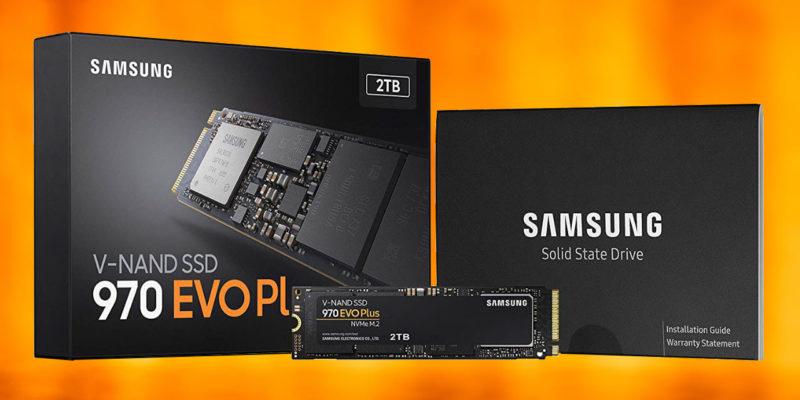 Samsung 970 EVO Plus: miglior SSD NVMe per la maggior parte delle persone
