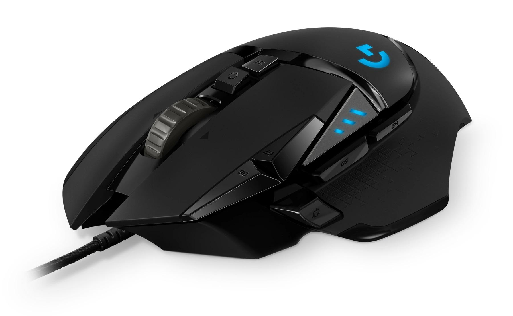 Logitech G502 Hero: miglior mouse gaming cablato
