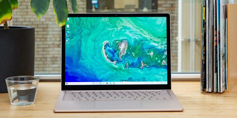 Microsoft Surface Laptop 3: miglior portatile per la maggior parte delle persone
