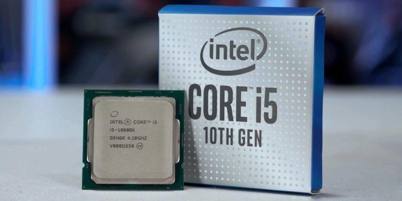 Intel Core I5-10600K: miglior processore Intel gaming